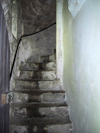 Stairs to Mary's Chamber and 4th floor