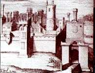 Drawing of Tutbury