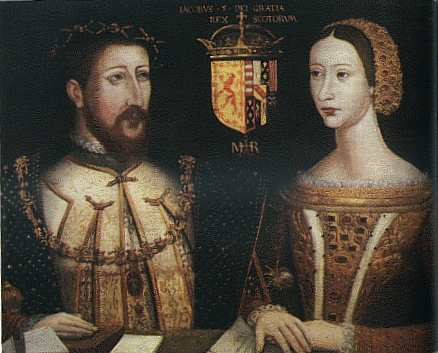 James V & Marie de Guise by an unknown artist. @ owner, Duke of Atholl