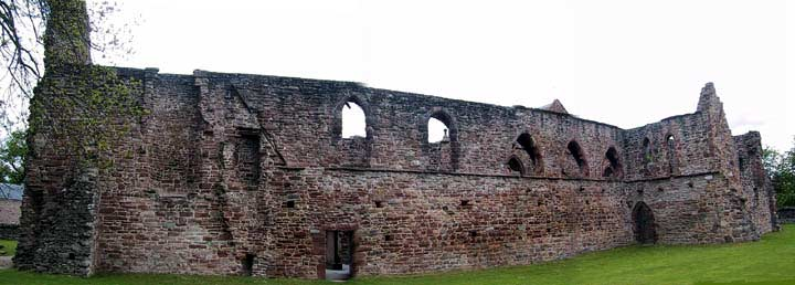 West front of Beauly Priory