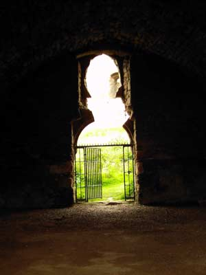 Horseshoe Window of stable Block
