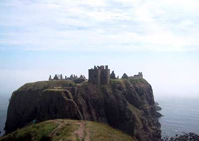 Dunnottar Castle on its spectacular promontory