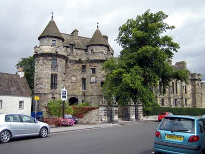 Falkland Palace's Twin Tower Gatehouse