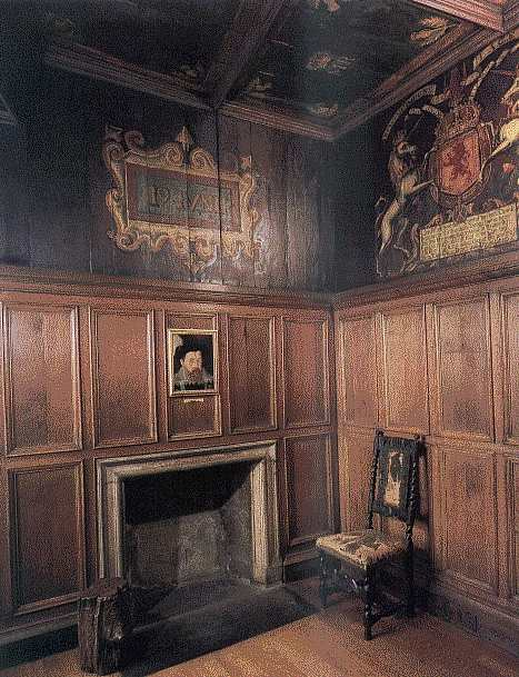 The room where James VI was born