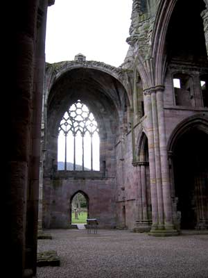 Inside view of the south transept of the 	church