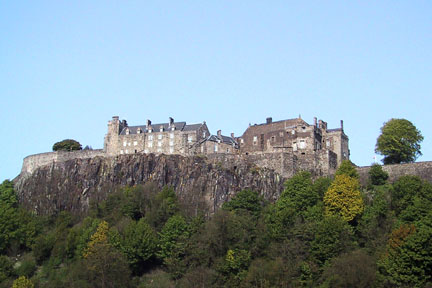 Stirling Castle from a distance
