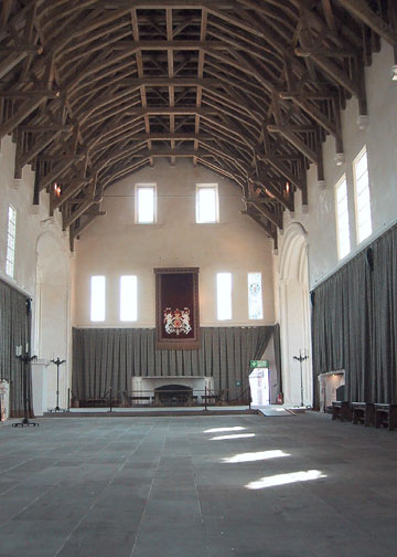 Inside the Great Hall